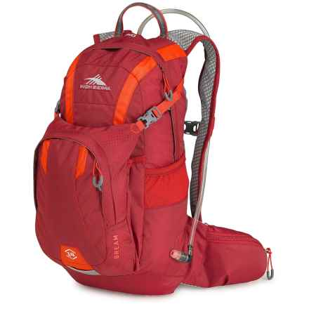 High Sierra Bream 14L Hydration Pack - 70 fl.oz. in Carmine/Redline - Closeouts