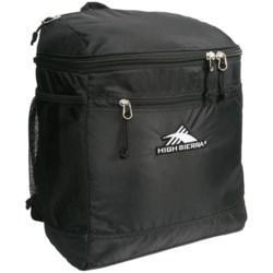 High Sierra Bucket Ski Boot Bag in Black