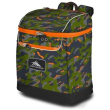 High Sierra Bucket Ski Boot Bag in Electric Camo/Mercury - Closeouts