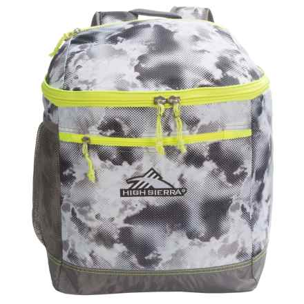 High Sierra Bucket Ski Boot Bag in Thunderstruck/Charcoal/Zest - Closeouts
