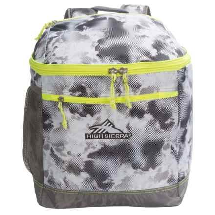 High Sierra Bucket Ski Boot Bag in Thunderstruck/Charcoal/Zest - Closeouts