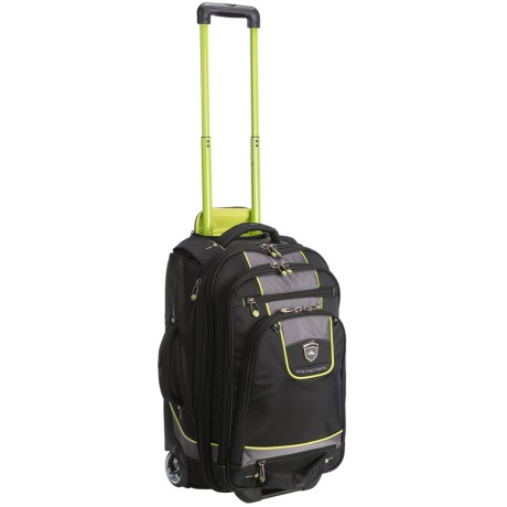 High Sierra Carry-On Boot Bag - Wheeled in Black/Charcoal