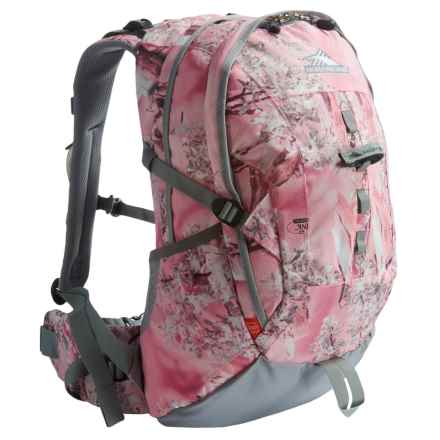 High Sierra Cirque 30 Backpack - Internal Frame in Pink Shadow/Ash - Closeouts