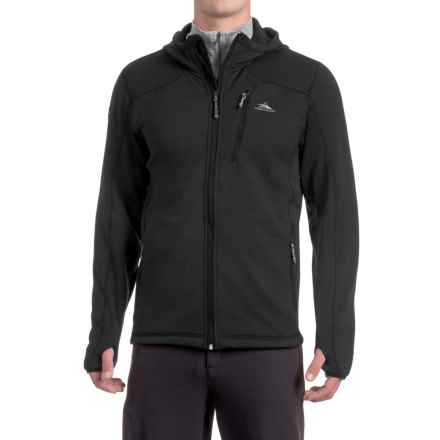 High Sierra Conness Hooded Jacket (For Men) in Black - Closeouts
