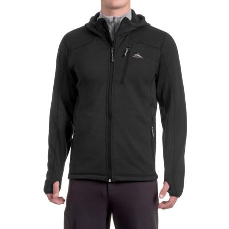 High Sierra Conness Hooded Jacket (For Men) in Black