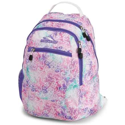 High Sierra Curve 29L Backpack in Delicate Lace/Lavender/White - Closeouts