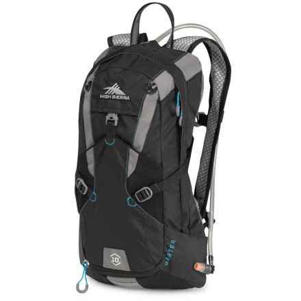 High Sierra Darter 10L Hydration Pack - 70 fl.oz. in Black/Charcoal/ - Closeouts