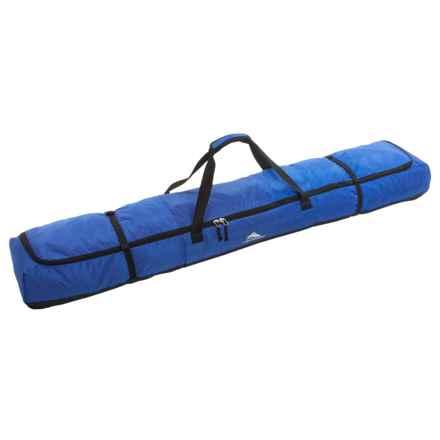 High Sierra Deluxe Double Ski Bag in Vivid Blue/Black - Closeouts