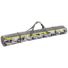 High Sierra Deluxe Single Ski Bag in Thunderstruck/Charcoal/Zest - Closeouts