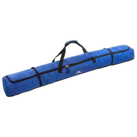High Sierra Deluxe Single Ski Bag in Vivid Blue/Black - Closeouts