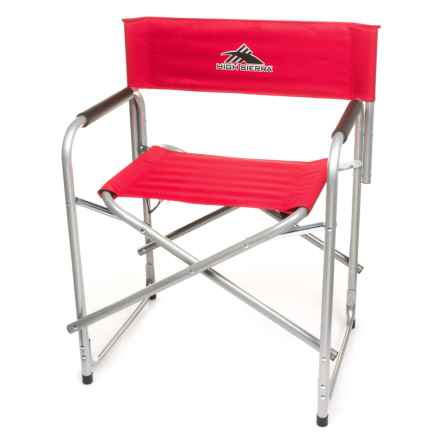 High Sierra Director Chair in Red - Closeouts