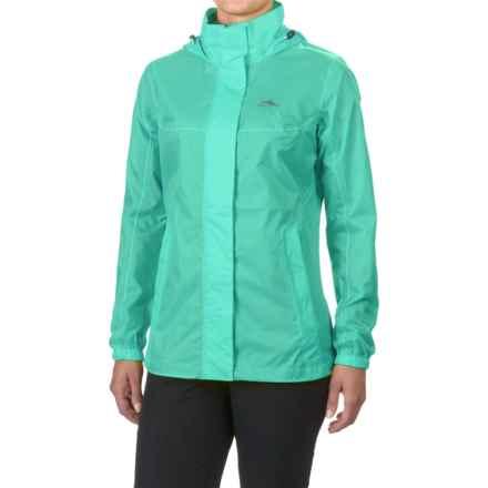 High Sierra Easy Trek Hooded Jacket - Waterproof (For Women) in Aquamarine - Closeouts