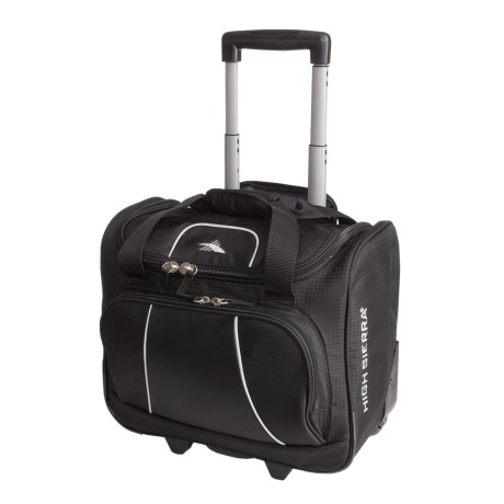 High Sierra Elevate Carry-On Bag - Rolling in Black