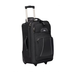 "High Sierra Elevate Rolling Suitcase - 25"" in Black"