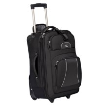 "High Sierra Elevate Wheeled Upright Suitcase - 22"" in Black - Closeouts"