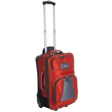 "High Sierra Elevate Wheeled Upright Suitcase - 22"" in Lava/Dark Tungsten - Closeouts"