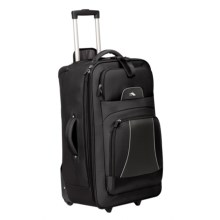 "High Sierra Elevate Wheeled Upright Suitcase - 28"" in Black - Closeouts"