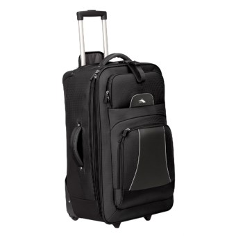 "High Sierra Elevate Wheeled Upright Suitcase - 28"" in Black"