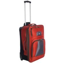 "High Sierra Elevate Wheeled Upright Suitcase - 28"" in Lava/Dark Tungsten - Closeouts"