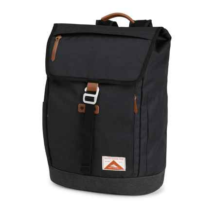 High Sierra Elmwood Backpack in Raven/Raven - Closeouts