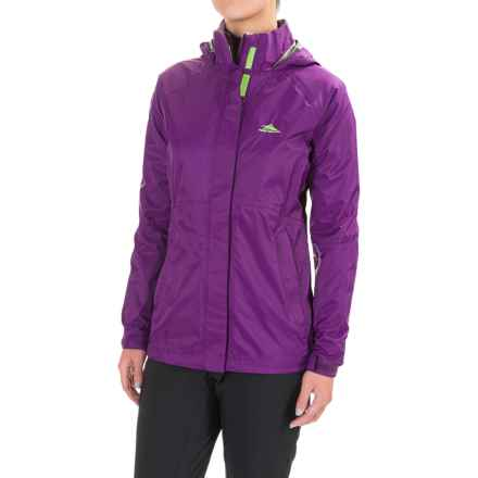 High Sierra Emerson Hooded Jacket - Full Zip (For Women) in Eggplant - Closeouts