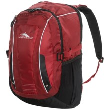 High Sierra Endeavor Computer Backpack in Carmine Red/Black - Closeouts