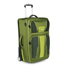 """High Sierra Evolution Expandable Rolling Upright Suitcase - 25"""" in Amazon/Pine/Leaf - Closeouts"""