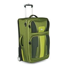 """High Sierra Evolution Expandable Rolling Upright Suitcase - 25"""" in Amazon/Pine/Leaf"""