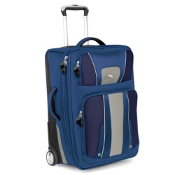 "High Sierra Evolution Expandable Rolling Upright Suitcase - 25"" in Amazon/Pine/Leaf"
