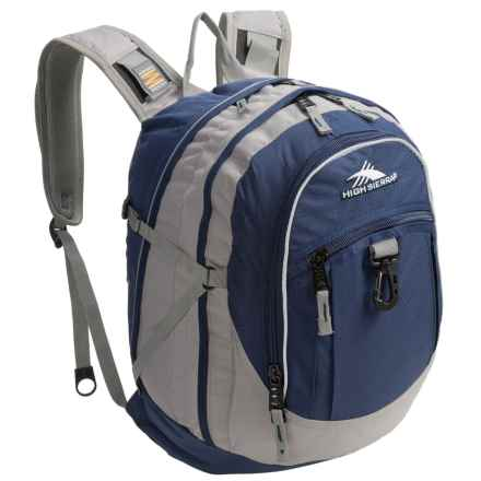High Sierra Fat Boy Backpack in Royal Blue/Charcoal - Closeouts