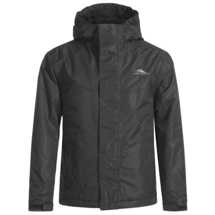 High Sierra Frankie Jacket - Waterproof, Insulated (For Little and Big Boys) in Black/Black - Closeouts