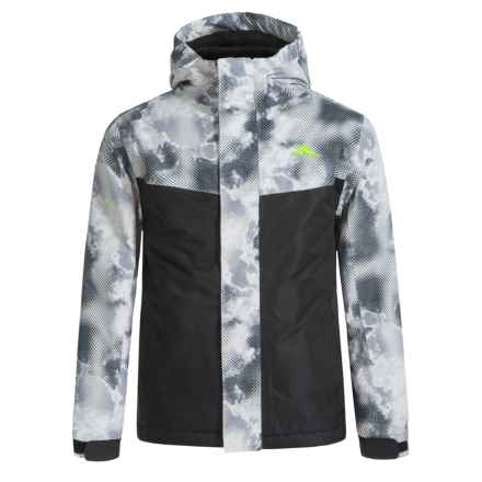 High Sierra Frankie Jacket - Waterproof, Insulated (For Little and Big Boys) in Thunderstruck/Black - Closeouts