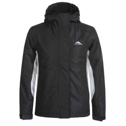 High Sierra Frankie Jacket - Waterproof, Insulated (For Little and Big Girls) in Black/White - Closeouts