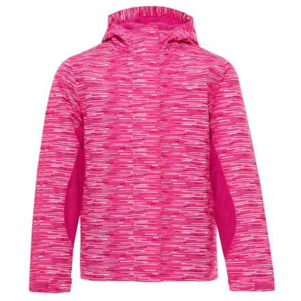 High Sierra Frankie Jacket - Waterproof, Insulated (For Little and Big Girls) in Pink Stroke/Fuschia - Closeouts