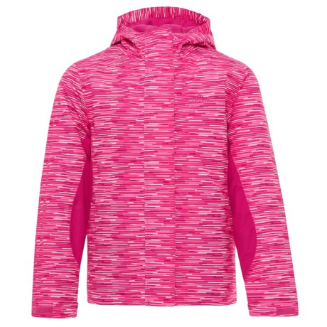 High Sierra Frankie Jacket - Waterproof, Insulated (For Little and Big Girls) in Pink Stroke/Fuschia