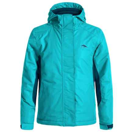 High Sierra Frankie Jacket - Waterproof, Insulated (For Little and Big Girls) in Tropic Teal/Lagoon - Closeouts