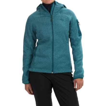 High Sierra Funston Fleece Hoodie - Full Zip (For Women) in Lagoon - Closeouts