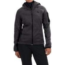 High Sierra Funston Fleece Hoodie - Full Zip (For Women) in Mercury - Closeouts