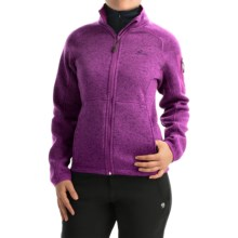 High Sierra Funston Fleece Jacket (For Women) in Eggplant - Closeouts