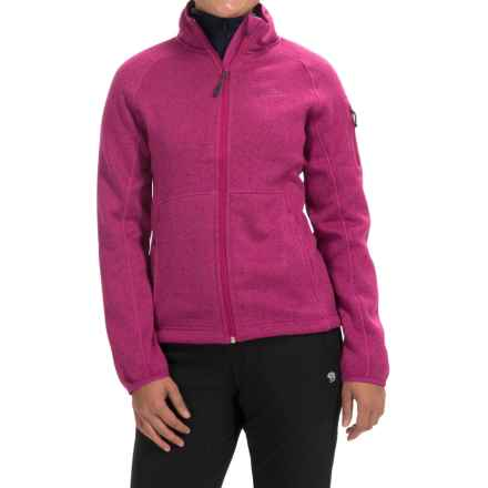 High Sierra Funston Fleece Jacket (For Women) in Razzmatazz - Closeouts