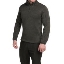 High Sierra Funston Fleece Pullover Jacket (For Men) in Black - Closeouts