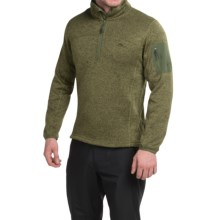High Sierra Funston Fleece Pullover Jacket (For Men) in Moss - Closeouts