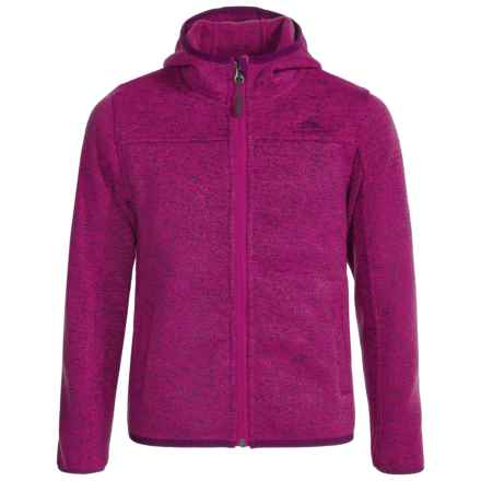 High Sierra Funston Hooded Jacket (For Little and Big Girls) in Razzmatazz/Eggplant - Closeouts