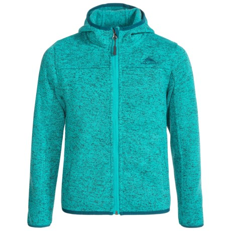 High Sierra Funston Hooded Jacket (For Little and Big Girls) in Tropic Teal/Lagoon