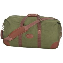 "High Sierra Heritage Collection Duffel Bag - 25"", Leather Trim in Olive Green - Closeouts"