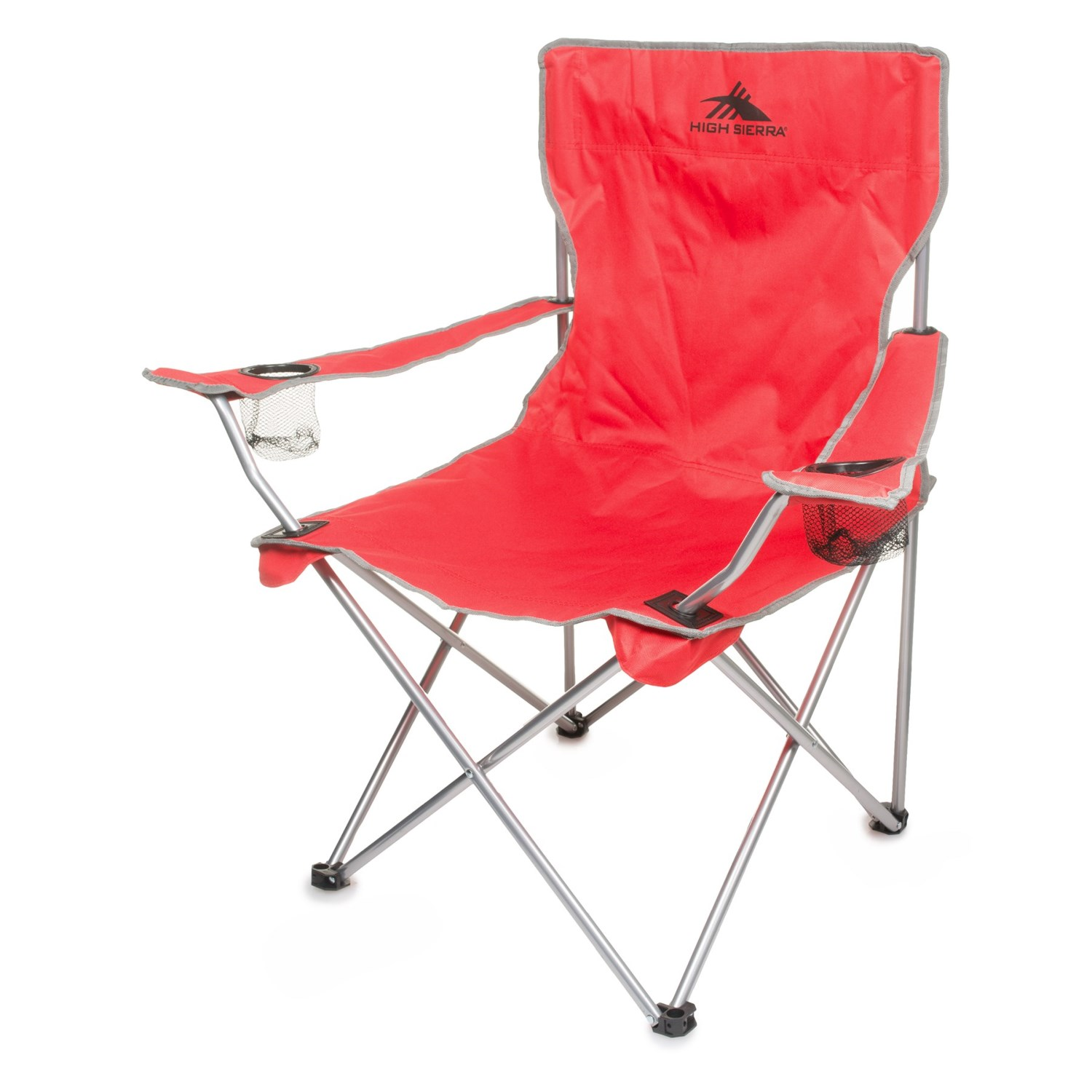 High Sierra High Back Camping Chair   Extra Wide In Red ...