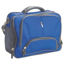 High Sierra Integral Computer Messenger Bag in Electric Blue/Charcoal - Closeouts