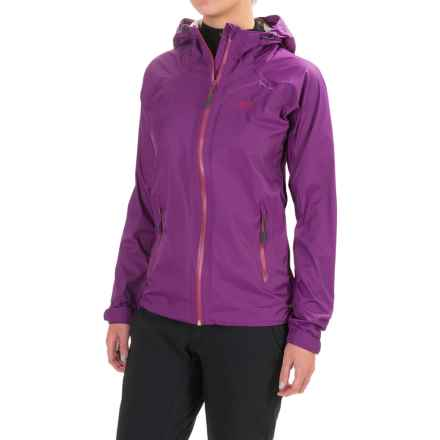 High Sierra Isles Hooded Jacket - Waterproof (For Women) in Eggplant - Closeouts