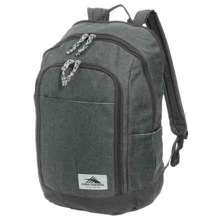 High Sierra Jaden 21L Backpack in Grey Heather/Mercury - Closeouts