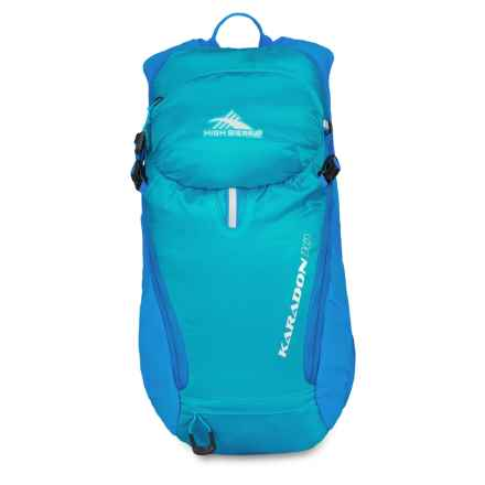 High Sierra Karadon 10L Backpack - Internal Frame in Pool/Scuba - Closeouts